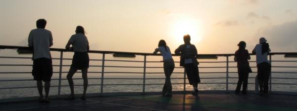 peaceboat_sunset