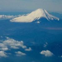 上空からの富士山