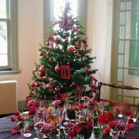 館内のクリスマスツリー