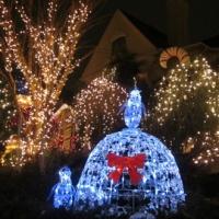 ブルックリンのクリスマスイルミネーション